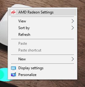 AMD Settings