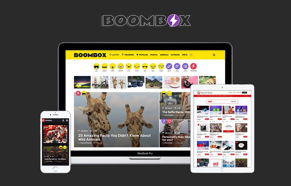 Boombox WordPress Theme Review