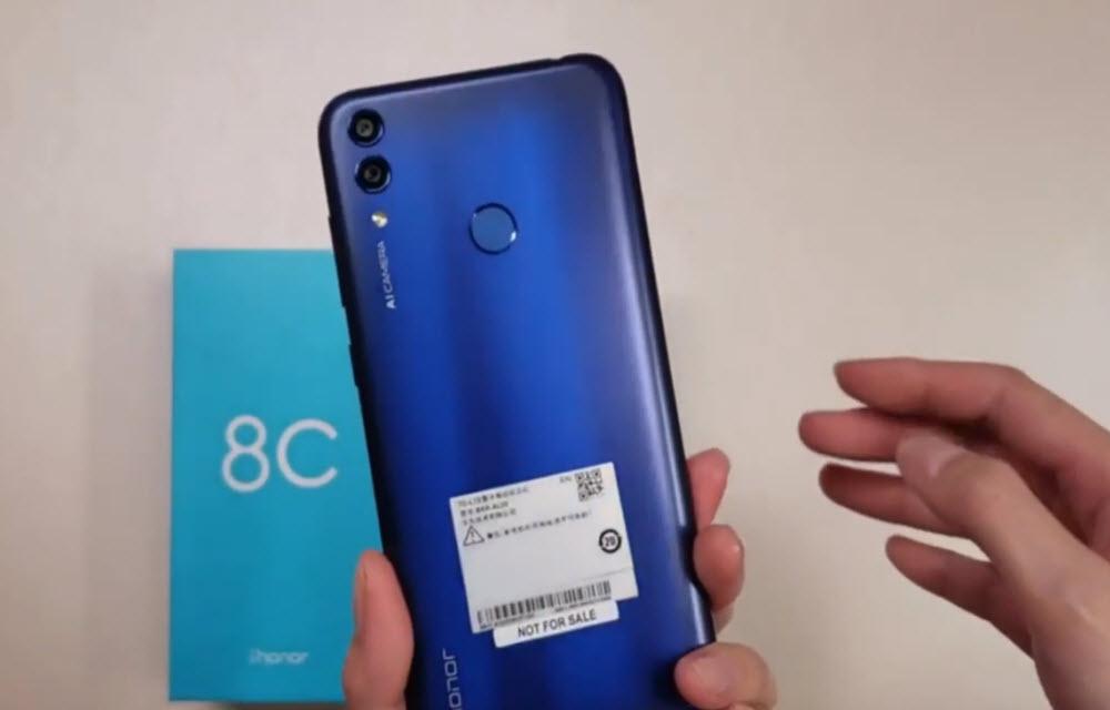 Huawei Honor 8C Camera