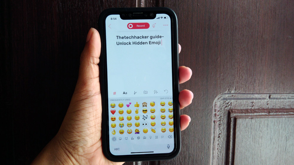 How to Unlock the Hidden iPhone Emoji Keyboard