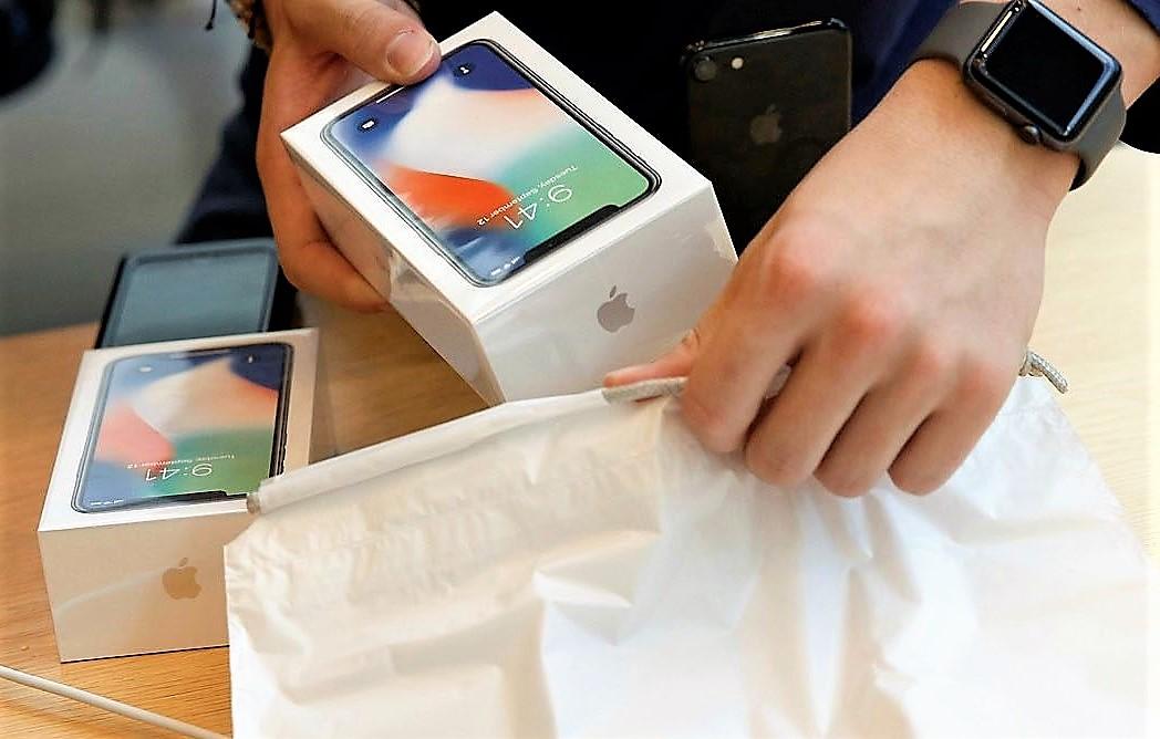 Apple iphone update in china