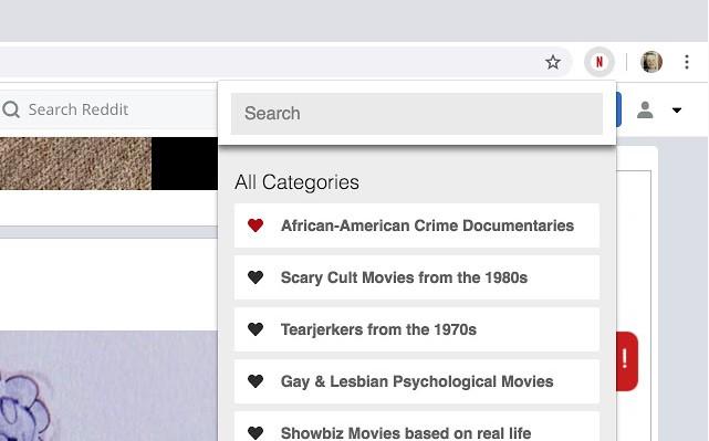 Netflix Hidden Categories