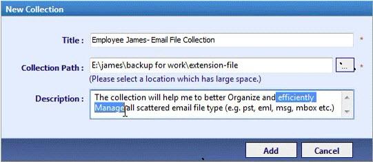 SysTools MailBackup