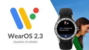 WearOS 2.3 is available now