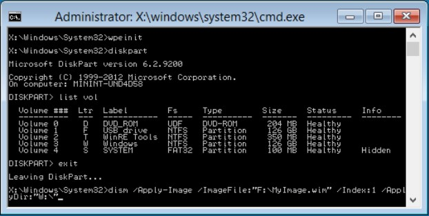 WinPE Boot Disk