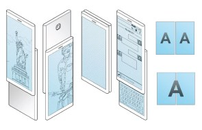 Samsung patents a new smartphone