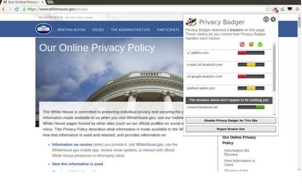 Privacy Badger