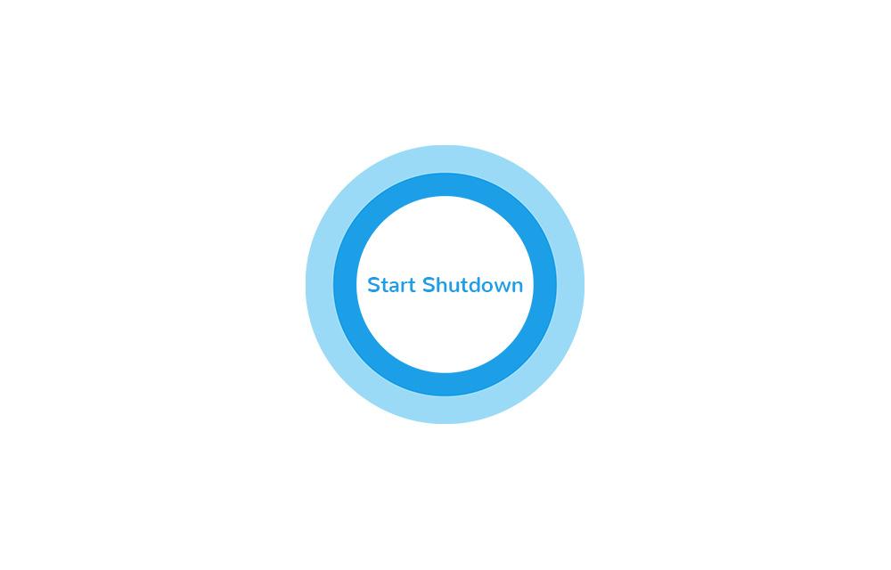 Shutdown or Restart Computer using Cortana in Windows 10