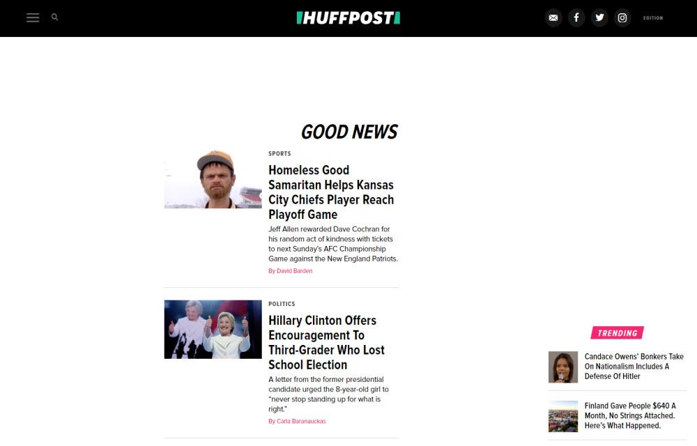 The Huffington Post-Good News