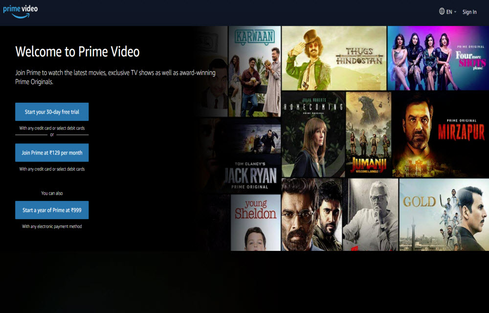Amazon Prime in India Will Soon Start Streaming of Cable TV Channels
