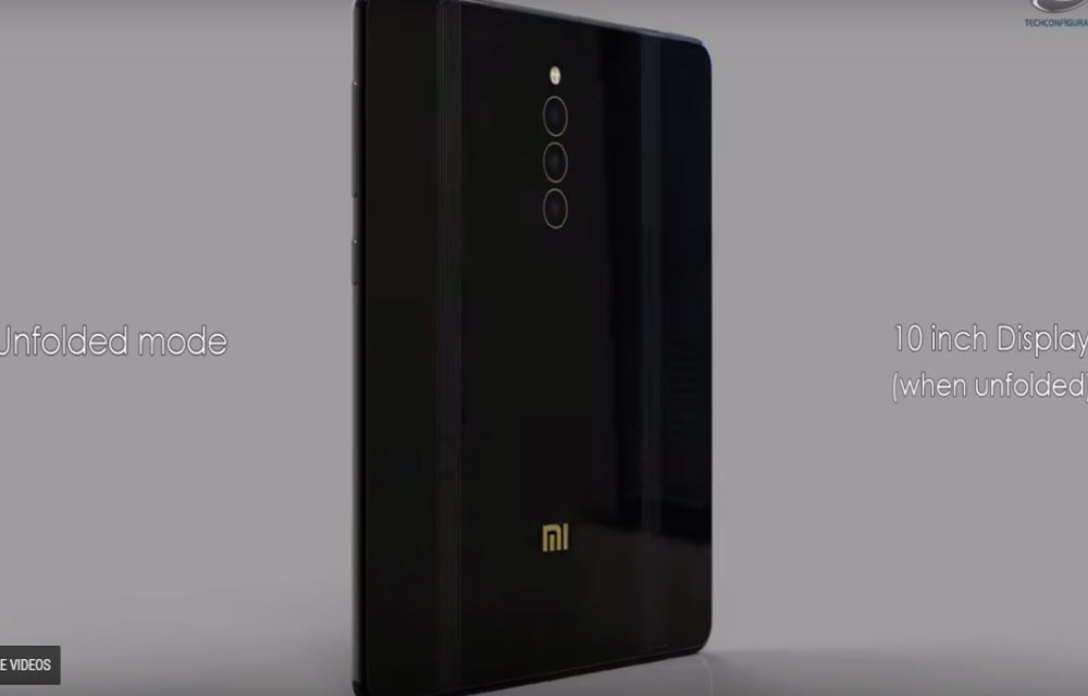 Xiaomi entered the foldable smartphone league, reveals a double-folded smartphone