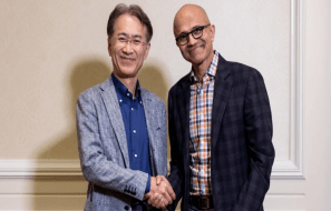 Microsoft Sony partnership