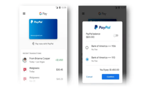 Google Pay adds PayPal integration
