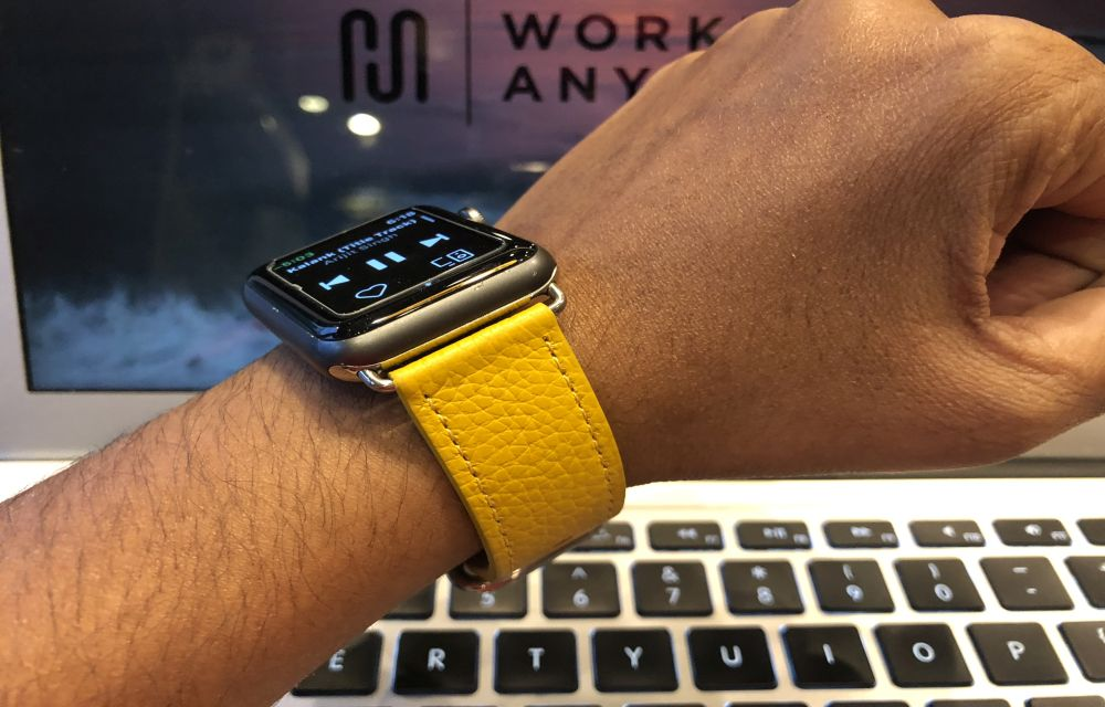 Get the Classic Buckle Leather Band for Apple Watch at just $24.99