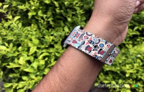 Supwatch Printed Silicon Sport Band for Apple Watch Review