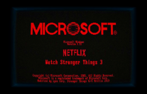Windows 1.1 Stranger Things Edition