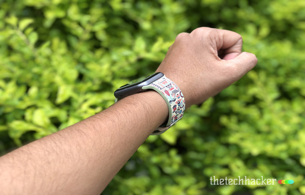 Supwatch Printed Silicon Sport Band for Apple Watch Quality