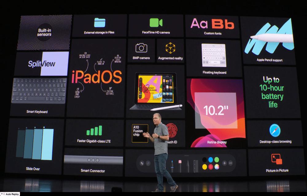 Apple iPadOS release date