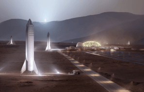 SpaceX spaceships