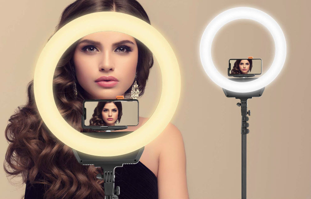 Mbuynow 16-inch LED Camera Ring light with stand review