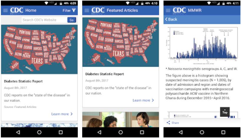 CDC app