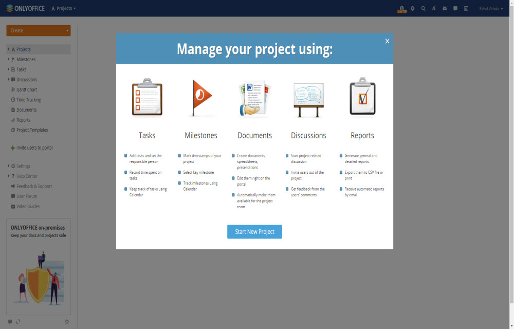 Getting started with ONLYOFFICE
