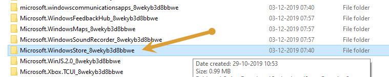 8wekyb3d8bbwe folder