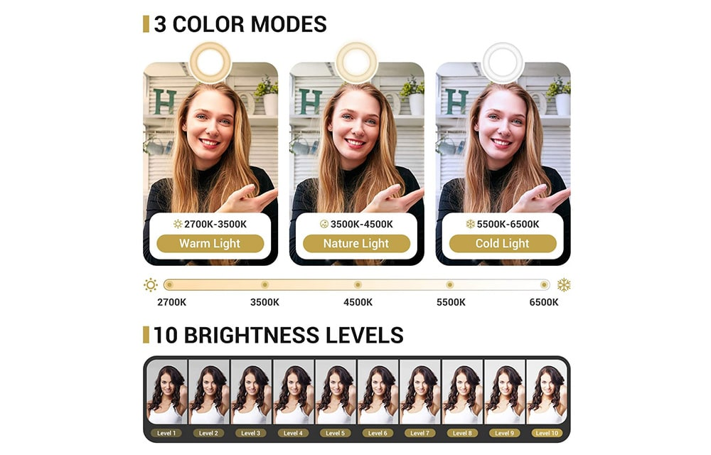 TONOR TRL-20 Color Modes
