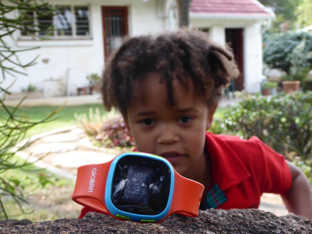 Alcatel Move Time is tracking your child – GOOD!