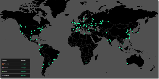 Where is the WannaCry ransomware worm right now? Scary stuff