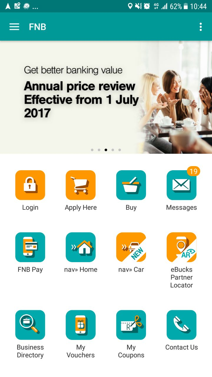 FNB app is packed with nav» motoring goodness -