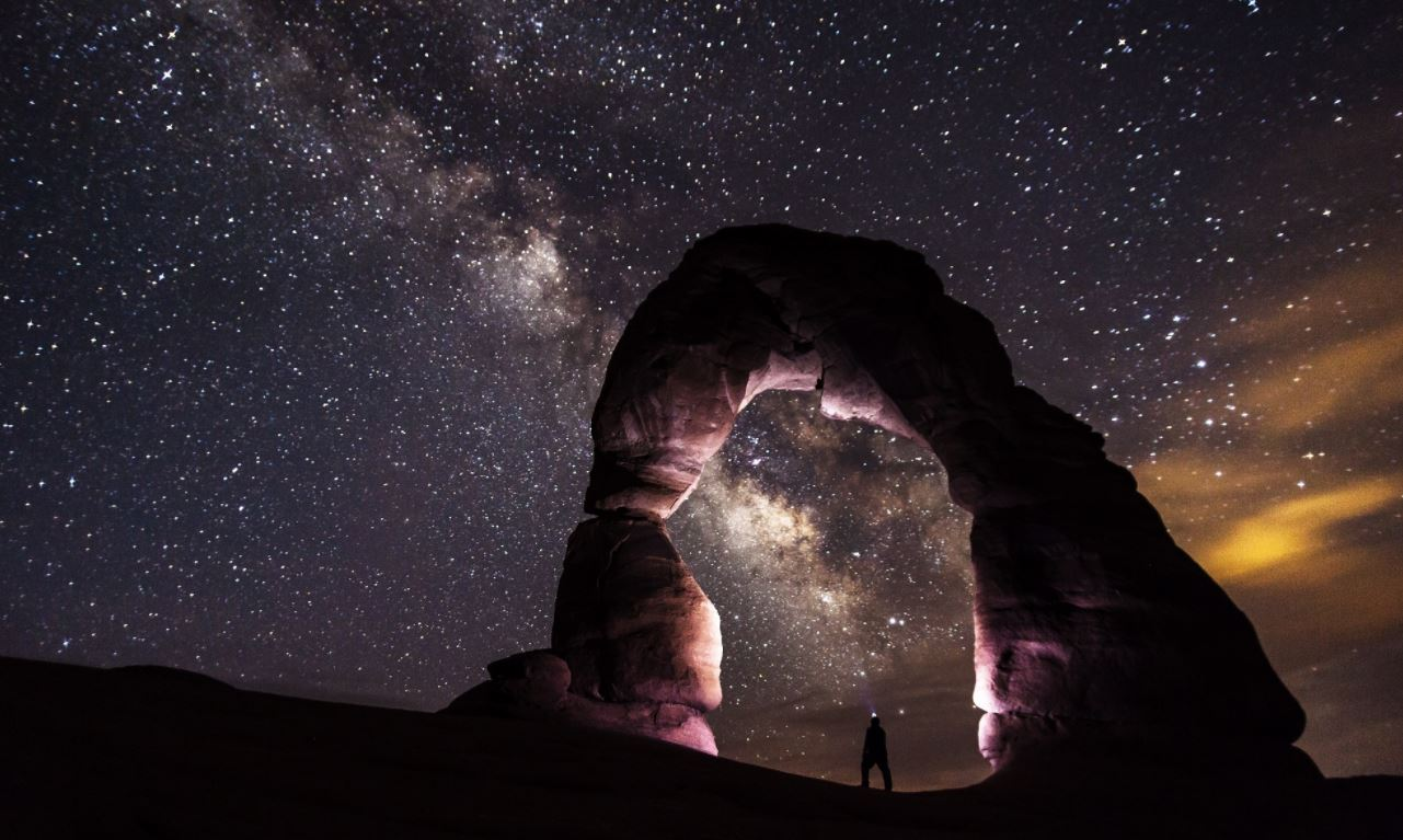 80000 photos make up this stunning time-lapse video that only a few get to experience