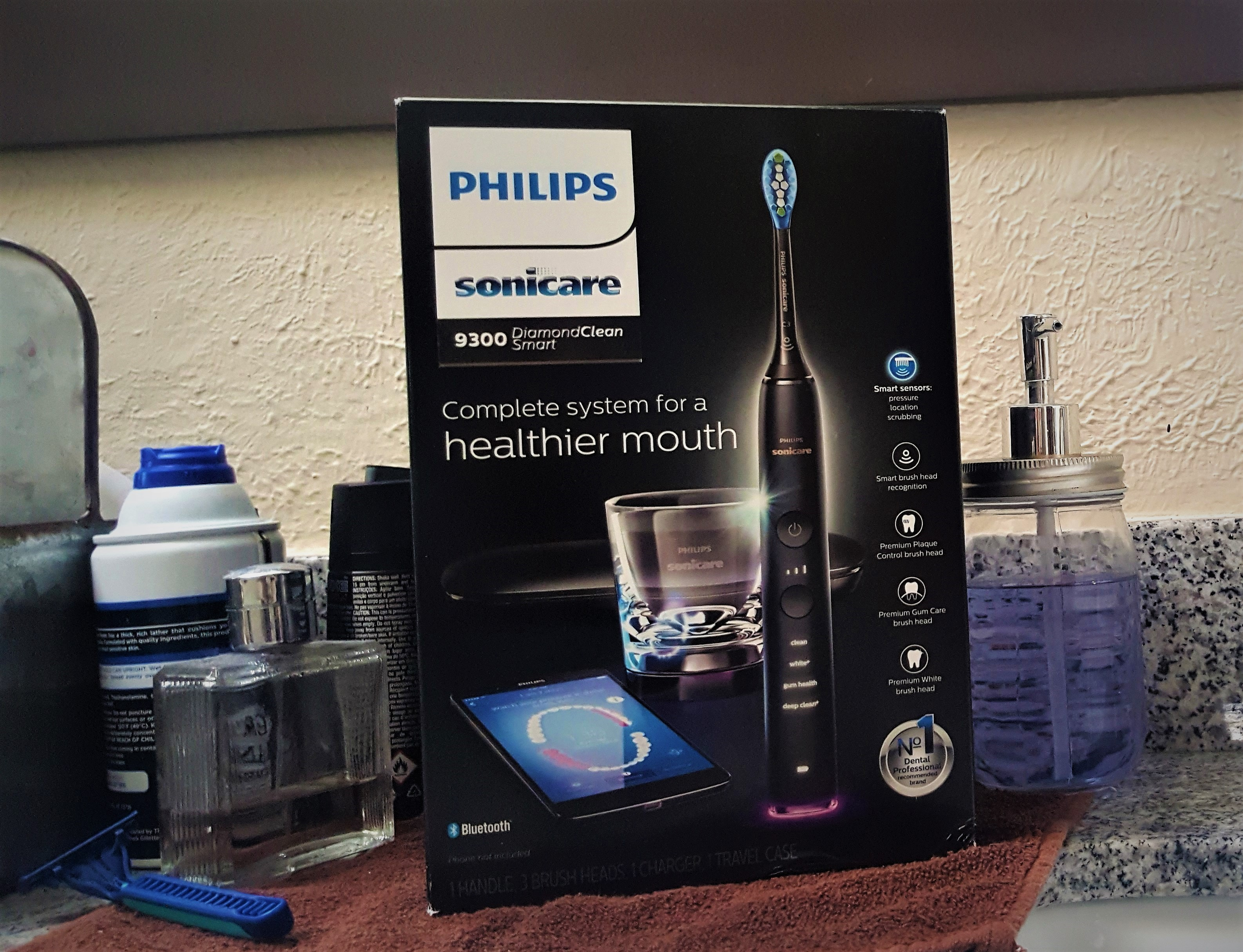 Why is everyone talking about the  Philips Sonicare DiamondClean Smart Electric Toothbrush
