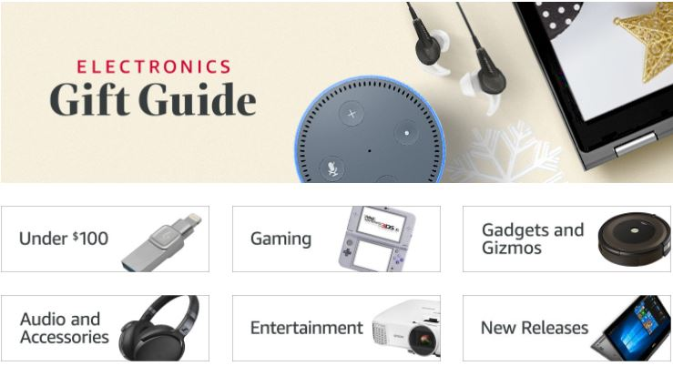 Your Last-Minute Christmas Tech Gift Guide Ideas - Amazon to the ...
