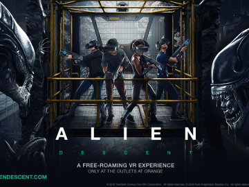 ALIEN_DESCENT VR Game