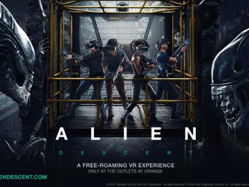 ALIEN_DESCENT VR Game