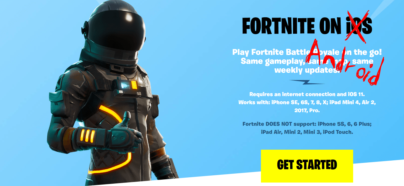 How to get Fortnite for Android and a list of compatible Fortnite Android phones