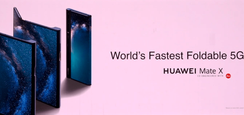 Huawei Mate X vs. Samsung Fold – how do they compare?