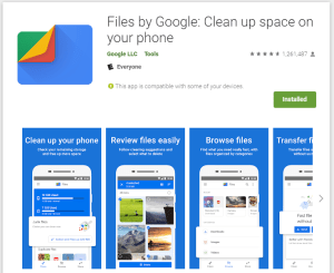 5 best Android apps - Files by google