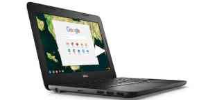 5 best laptops - dell chromebook 3180