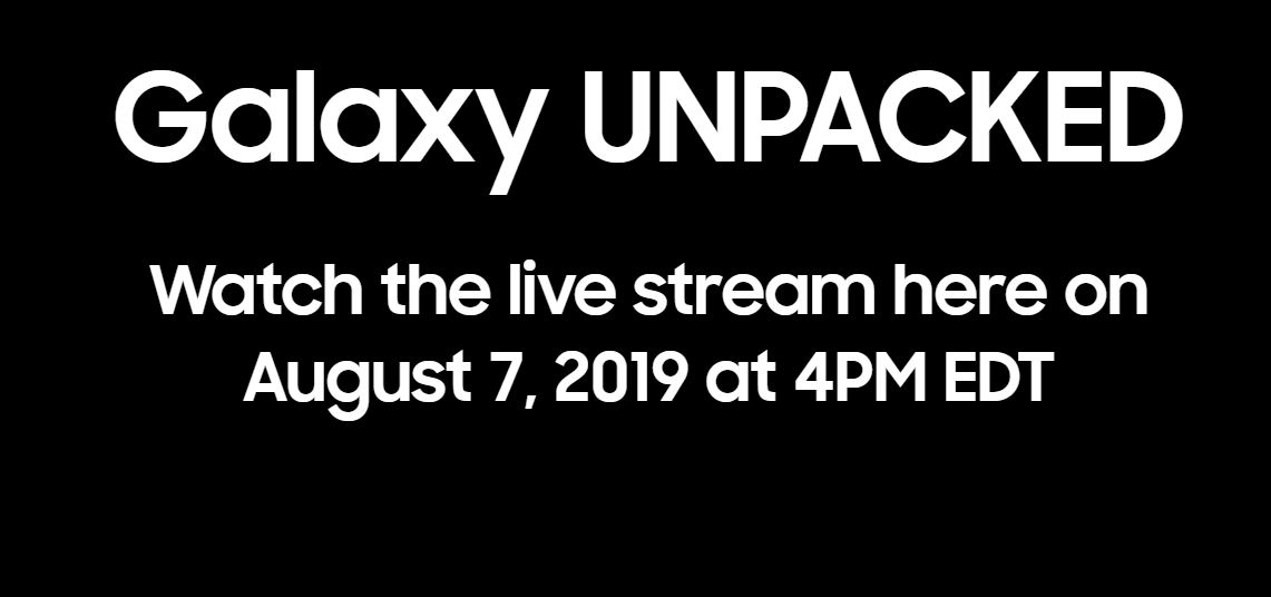 How to watch the Samsung Galaxy Note 10 at Unpacked 2019