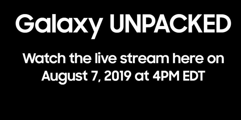 Samsung note 10 unpacked event live