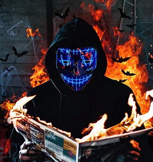 halloween 2019 light up mask
