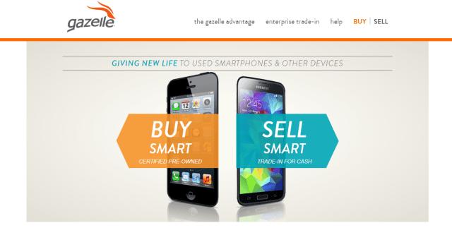 sell tech online - gazelle