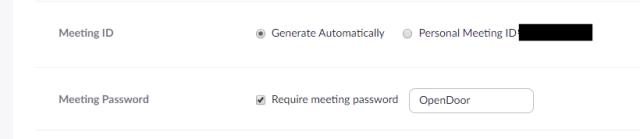 how to secure zoom random meeting url - thetechieguy