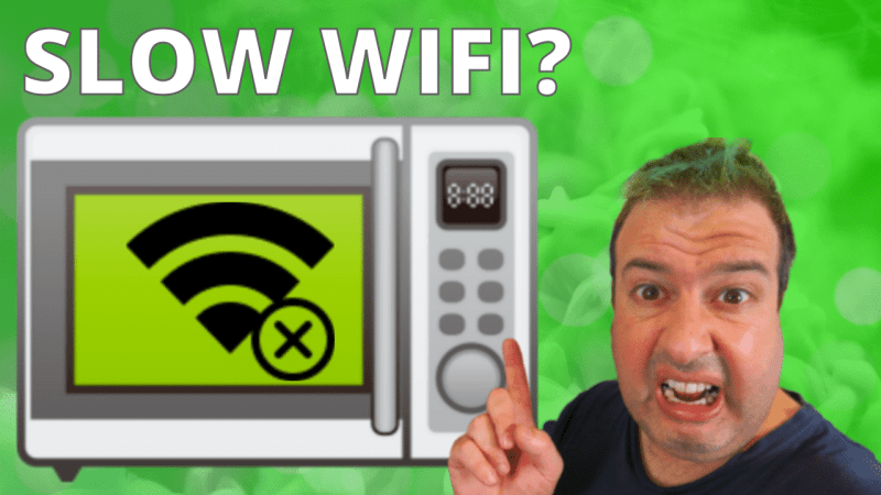 microwave slow wifi on TheTechieGuy