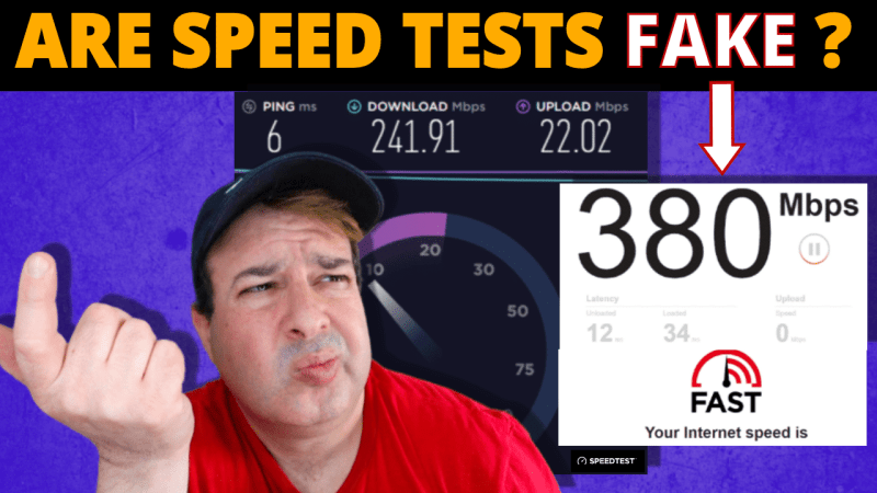 are speed tests reliable