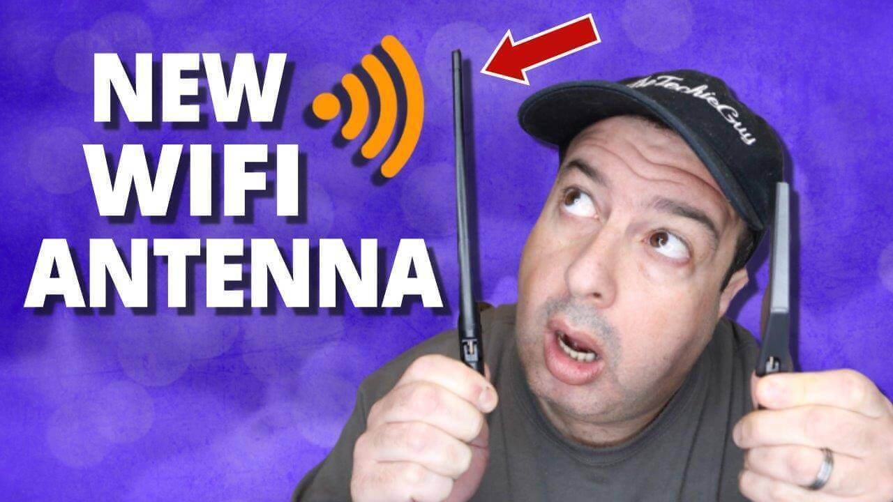 You can get faster Internet speed with a WiFi High-Gain Antenna