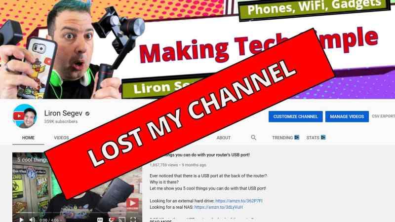 My YouTube Channel Got Hijacked (but it wasn't)