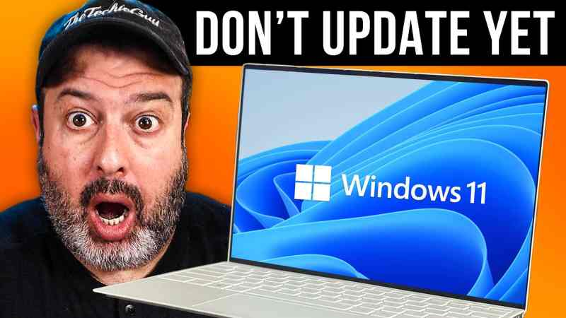 BEFORE updating to Windows 11 - do this
